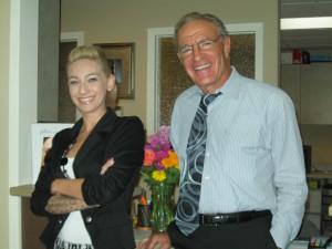 Dr. Michael Goodman and staff
