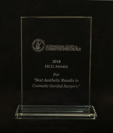 International Society of Cosmetogynecology Award 2018